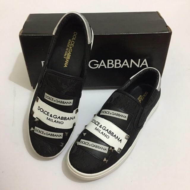 Giày Slipon Dolce Gabbana tag mặc chất -Ảnh thật