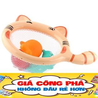 [1 ĐỔI 1] Vợt Mèo Vợt Côn Trùng Cho Bé Khi Tắm