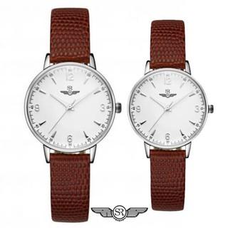 Đồng hồ cặp đôi SRWATCH SR2086.4102 Mặt kính Sapphire sở hữu phong cách thiết kế san thumbnail