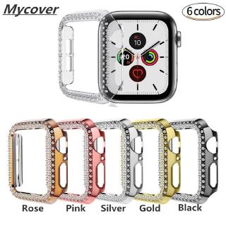 Ốp bảo vệ đồng hồ thông minh đính đá cho Apple Watch Series 6 SE 5 4 3 2 1 38mm 40mm 42mm 44mm thumbnail