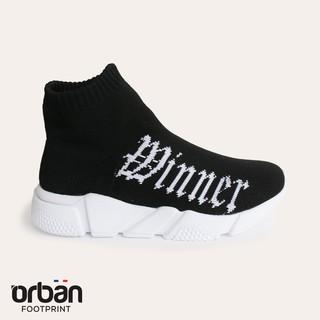 Giày thể thao bé trai Urban TB1804 đế trắng