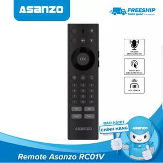 Remote tìm kiếm giọng nói kiêm chuột bay Asanzo (tiện dụng, học lệnh IR, cổng cắm USB) Hàng Chính Hãng