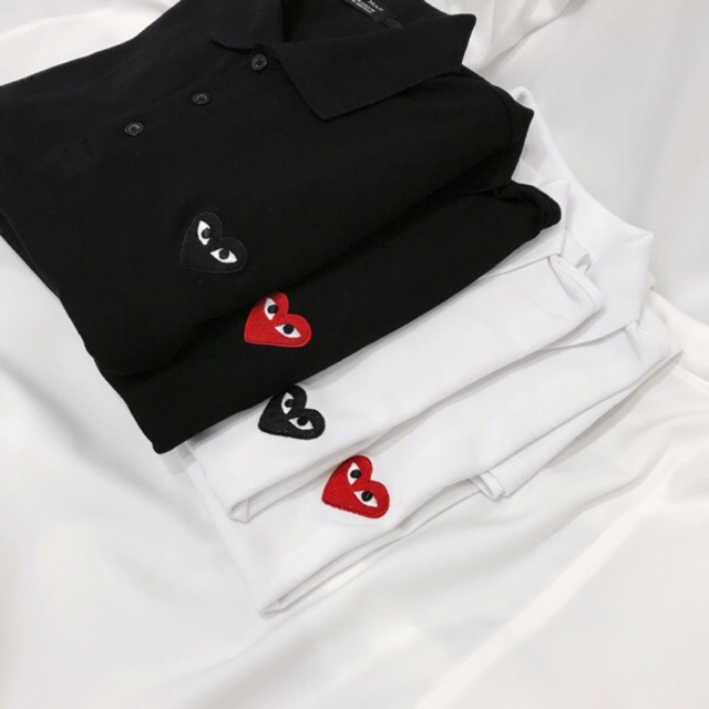 ÁO THUN POLO CDG