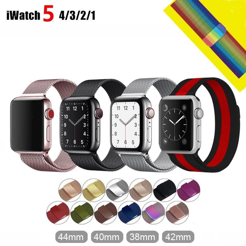 Dây đeo thay thế dành cho Apple Watch Series 1 2 3 4 5 38mm 40mm 42mm 44mm