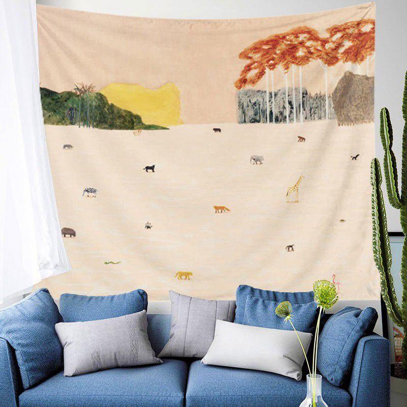 100cm x 160cm Vải canvas thô mộc phông chụp ảnh, decor, lều cho bé