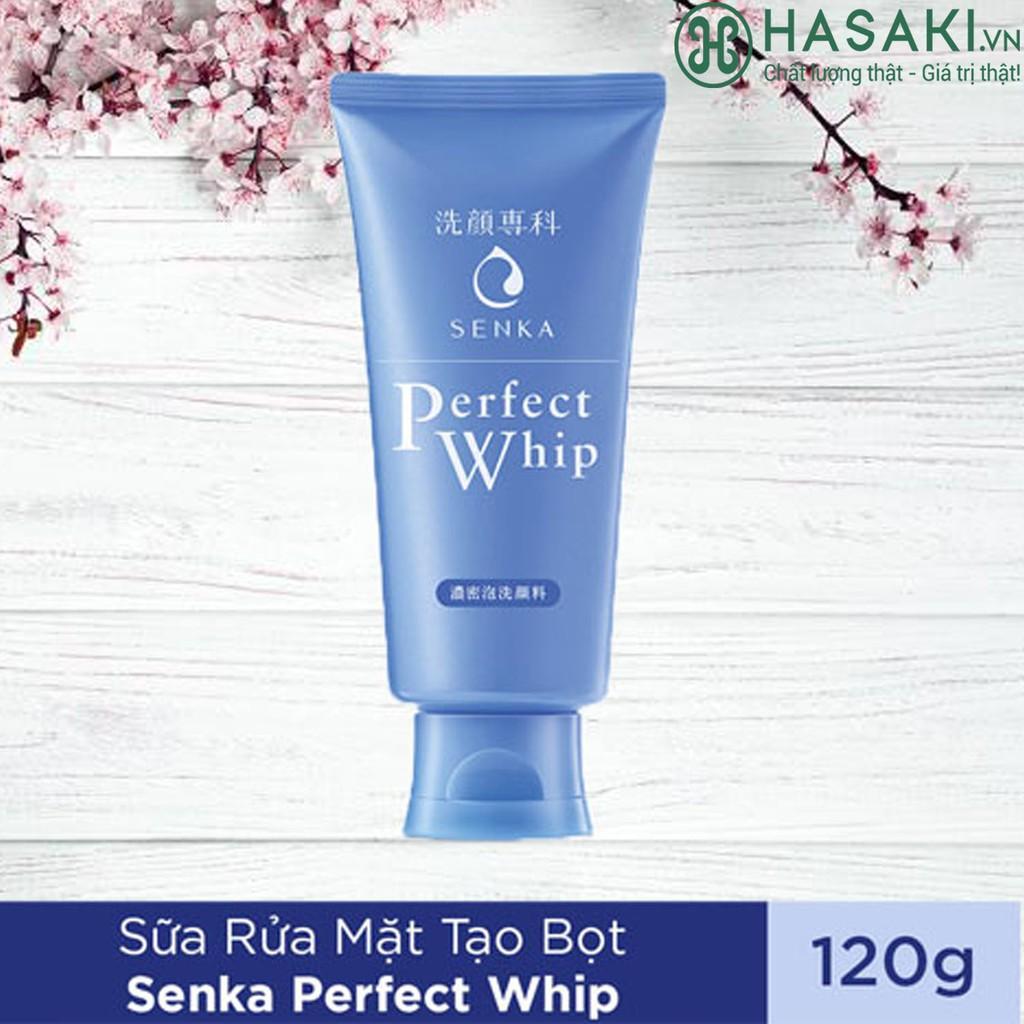 Sữa Rửa Mặt Cho Mọi Loại Da SENKA Perfect Whip Facial Foam Wash