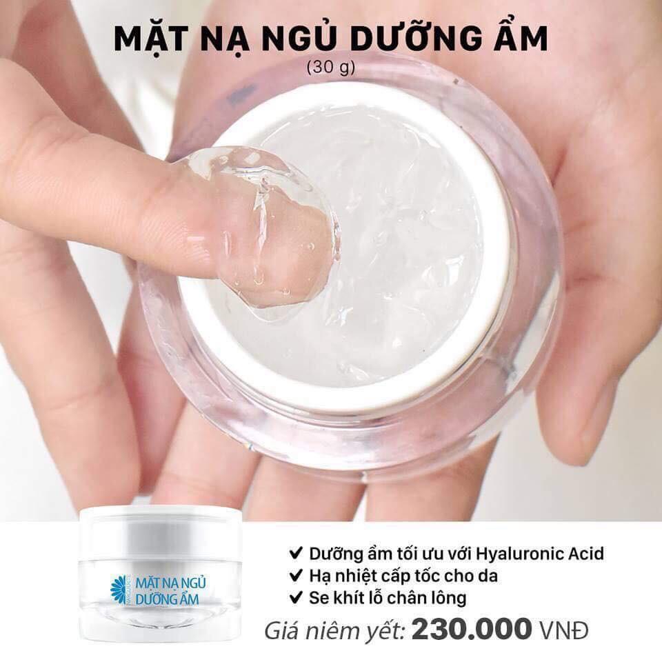 Mặt nạ ngủ siêu cấp nước - dưỡng ẩm và căng bóng da Narguerite 30gr