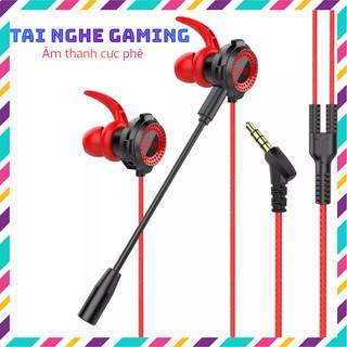 Tai Nghe Chơi Game, Tai Nghe Nhét Tai TN-G11 Âm Thanh Cực Phê, Tương Thích Với Mọi Dòng Game, Kèm Mic Rời