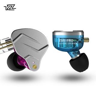 KZ ZSN PRO 1BA+1DD Hybrid technology HIFI Metal In Ear Earphones Bass Earbud Sport Noise Cancelling Headset ZST X AS10 ZS10 ST1
