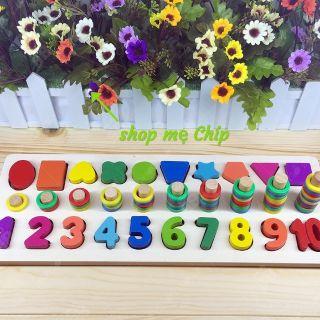 Logic 3 dòng số v khối