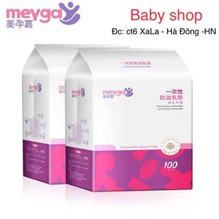 [Mã MKBCSALE1 giảm 8% đơn 250K] Miếng lót thấm sữa meyga – bịch 100 miếng