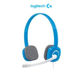 Tai nghe Logitech H150 dành cho máy tính có 2 giắc cắm