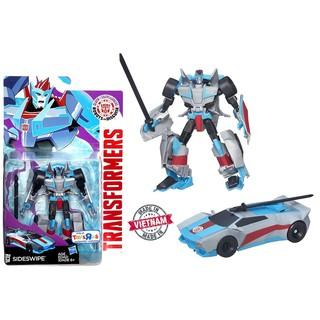 Robot Transformers SIDESWIPE ráp thành xe hơi Robot-In-Disguise