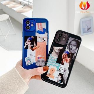 Mắt Vẽ Tranh Minh Họa Cho IPhone11 12 XR 7Plus SE2 11Promax Chống Vỡ Vỏ Bảo Vệ