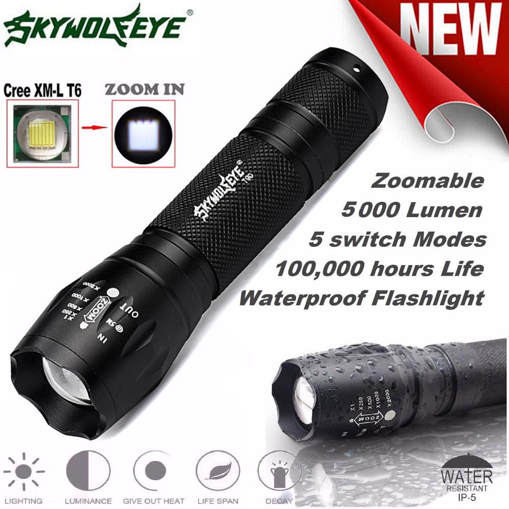 Đèn Pin Siêu Sáng G700 Skywolf X800 Siêu Sáng