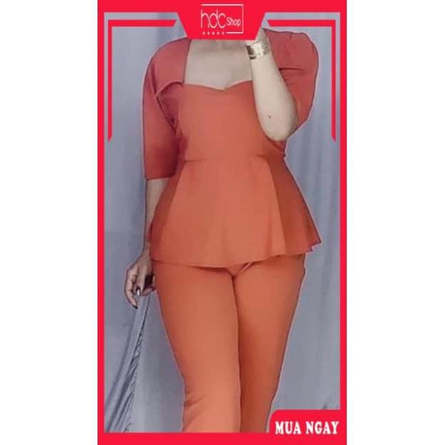 [CHÍNH HÃNG] Đầm bigsize công sở - 🍒 Sét Bigsize 60-85 ký