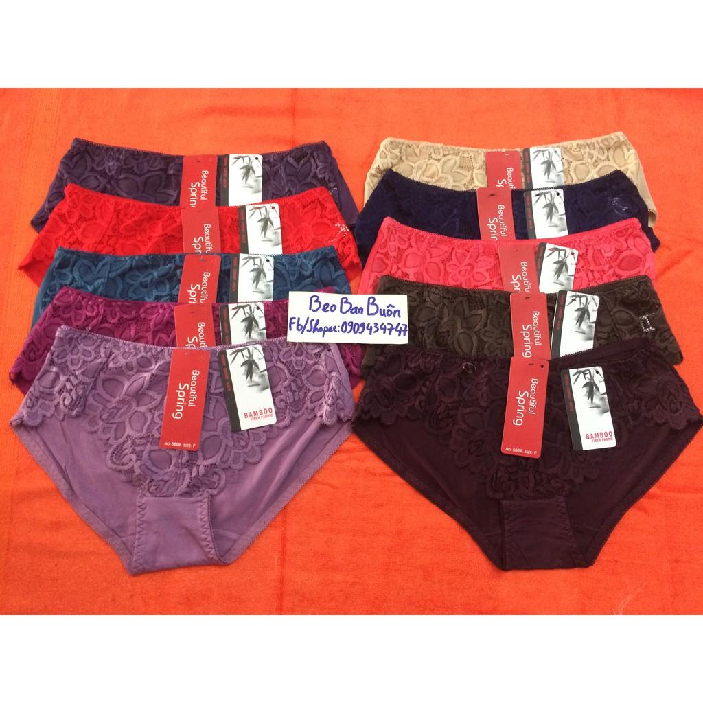 10 quần lót nữ cotton beautiful spring / 10 quần lót nữ / quần sịp nữ - 9981126 , 306623338 , 322_306623338 , 220000 , 10-quan-lot-nu-cotton-beautiful-spring--10-quan-lot-nu--quan-sip-nu-322_306623338 , shopee.vn , 10 quần lót nữ cotton beautiful spring / 10 quần lót nữ / quần sịp nữ