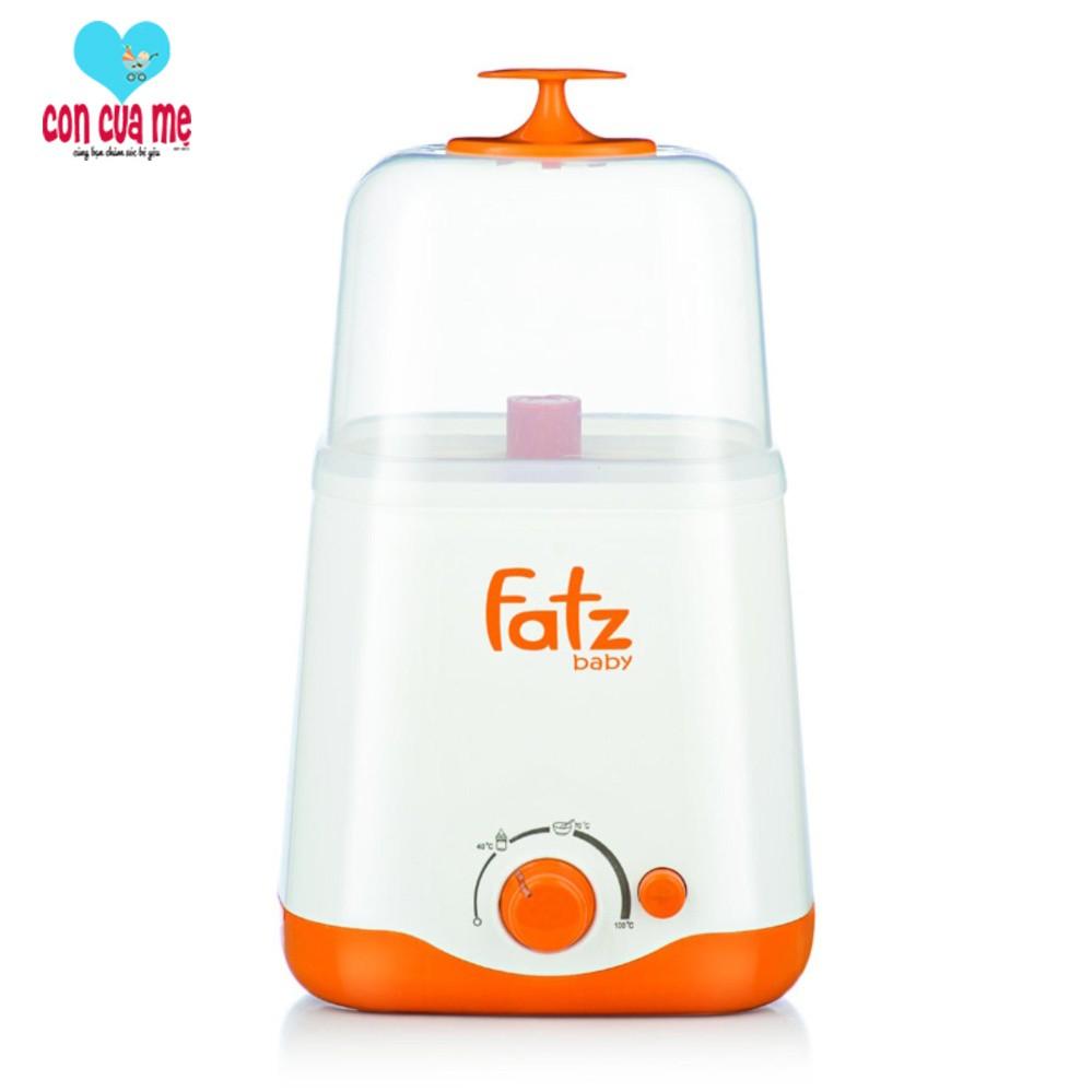 Máy hâm sữa và tiệt trùng 2 bình cổ rộng thế hệ mới Fatz Baby FB3012SL