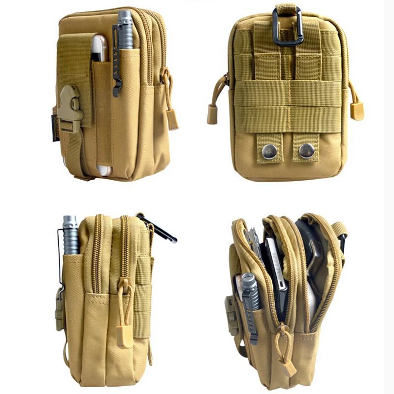 [SALE NGÀY CUỐI] Túi đeo hông quân đội Mỹ chống nước - tiện dụng - đồ phượt - balo tặng...