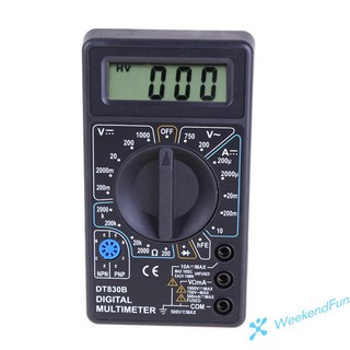Vạn năng kế Wee Dt-830B với màn hình Lcd Ac/Dc 750/1000v
