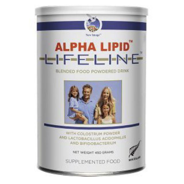 Sữa non Alpha Lipid Lifeline của New Zealand, nguyên mã code