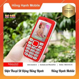 Hình ảnh Điện Thoại Masstel iZi 120 - Hàng Chính Hãng - Hồng Hạnh Mobile-1