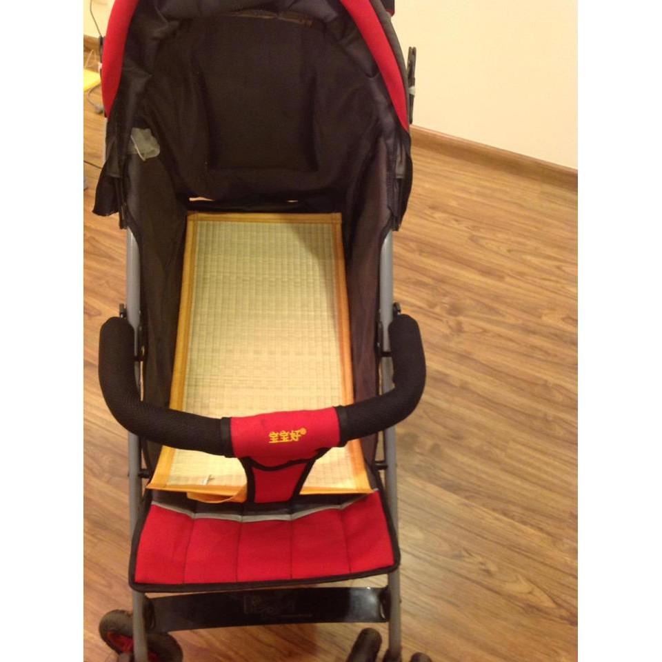 Chiếu cói điều hòa xuất Nhật Tatami dùng xe đẩy hoặc ghế nằm cho bé kt 30x60cm