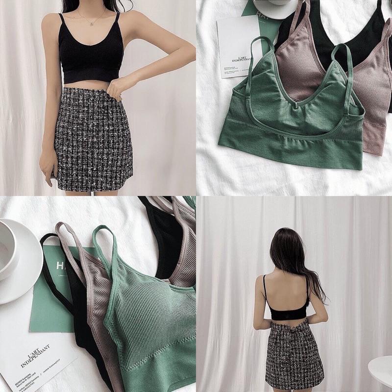Áo Lót Dây Lưng Chữ U Thời Trang Quyến Rũ Cho Nữ