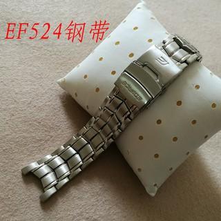 Dây Đeo Bằng Thép Không Gỉ Cho Đồng Hồ Casio 5051 Ef-524 Ef-524Sp-1A Ef-524D-7A