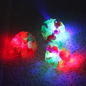 Bóng ném dính Sticky Ball có đèn Led phụ liện dạy học trò chơi Andhere