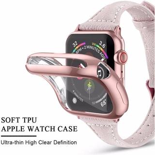 Ốp Bảo Vệ Mặt Đồng Hồ Thông Minh Apple Watch Series 6 SE 5 4 3 2 1 Kích Thước 42mm 38m 40mm 44mm thumbnail