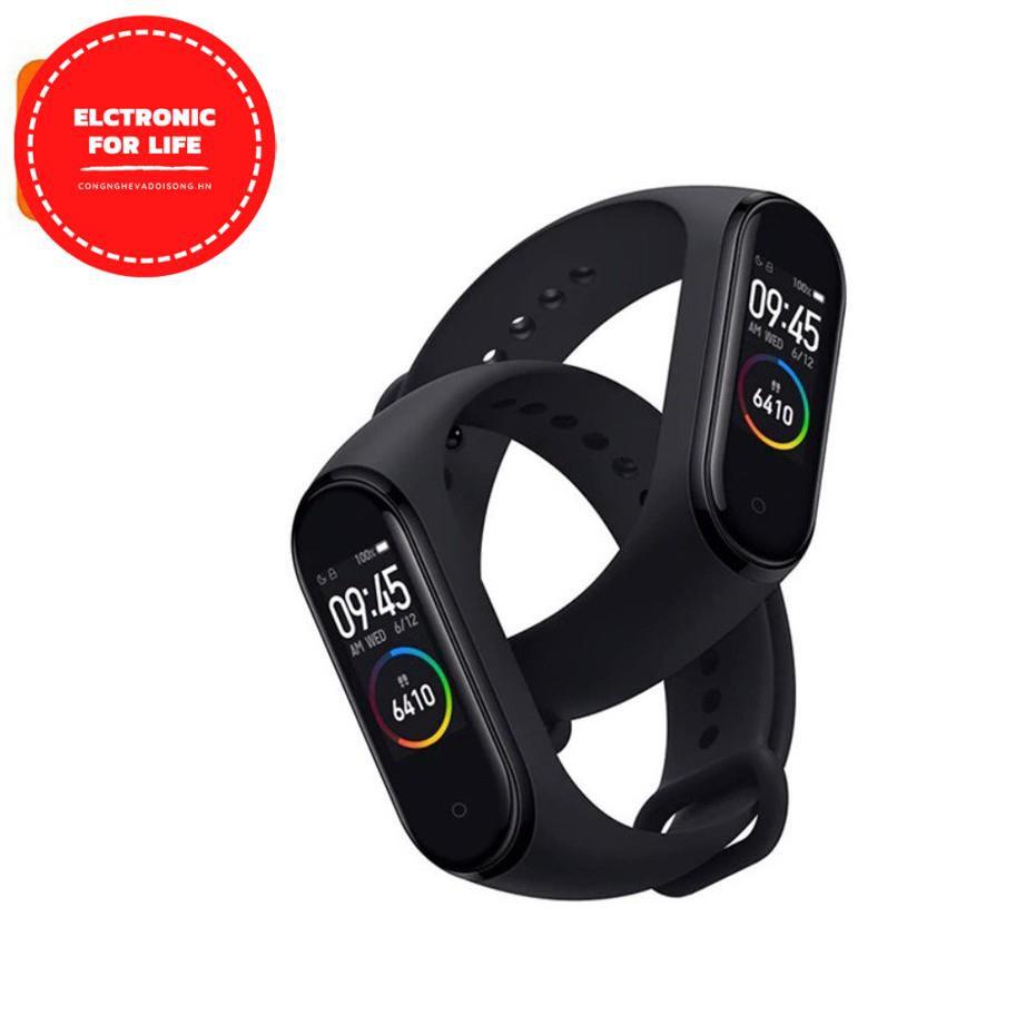 Vòng tay Xiaomi Mi Band 5/ Xiaomi Mi Band 4 [CHÍNH HÃNG]  - Đo nhịp tim theo dõi sức khỏe - Màn hình cảm ứng, Báo thức