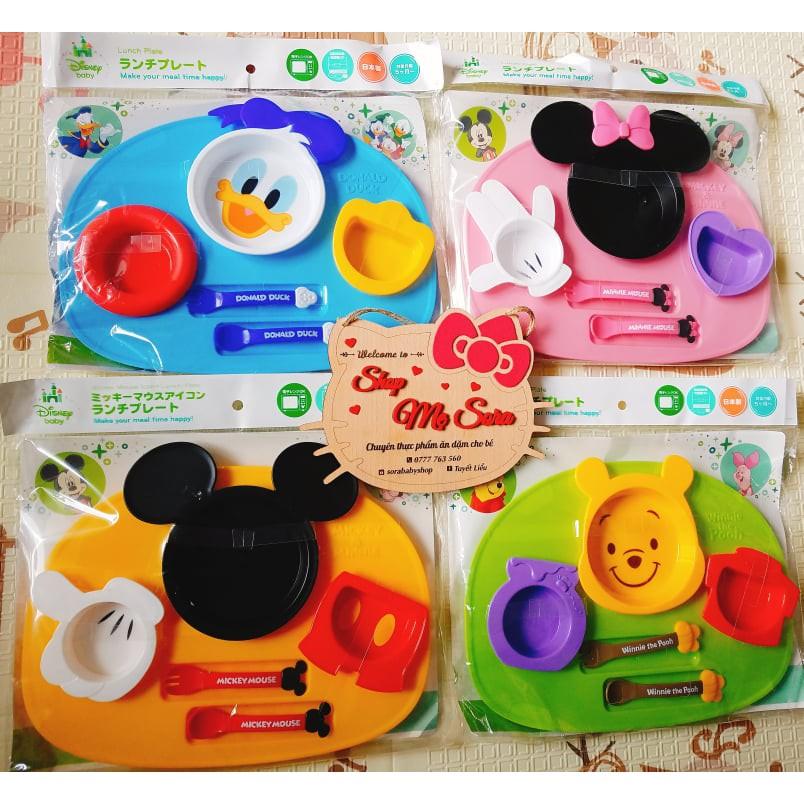 Bộ ăn dặm Disney Made in Nhật Bản
