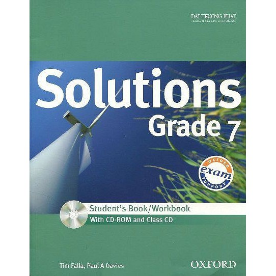 Sách Solutions Grade 7 - Student