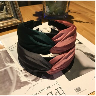 Bờm bản to siêu cao cấp phối 2 mầu vải lụa đẹp Song An Eco BN45 (Có lựa chọn mầu) thumbnail