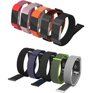 Dây Sport Loop Woven Nylon Cho Fitbit Charge 2