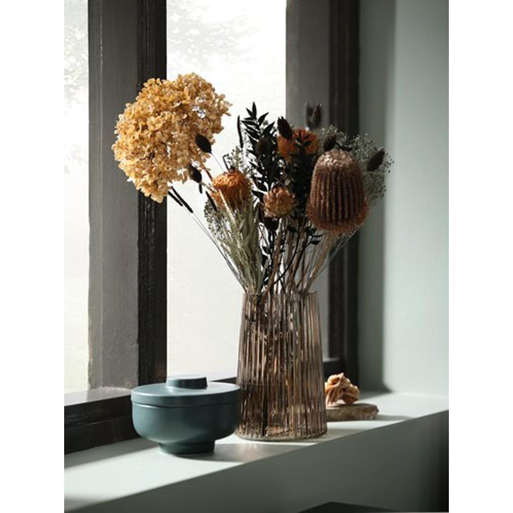 Lọ hoa JYSK Roy thuỷ tinh nhiều màu DK13xH20cm