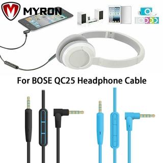 Dây cáp tai nghe có micro dành cho tai nghe chụp tai Bose Qc25