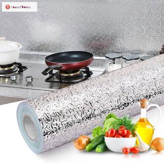 Cuộn giấy dán bếp bạc chịu nhiệt khổ 60cm x3m thumbnail