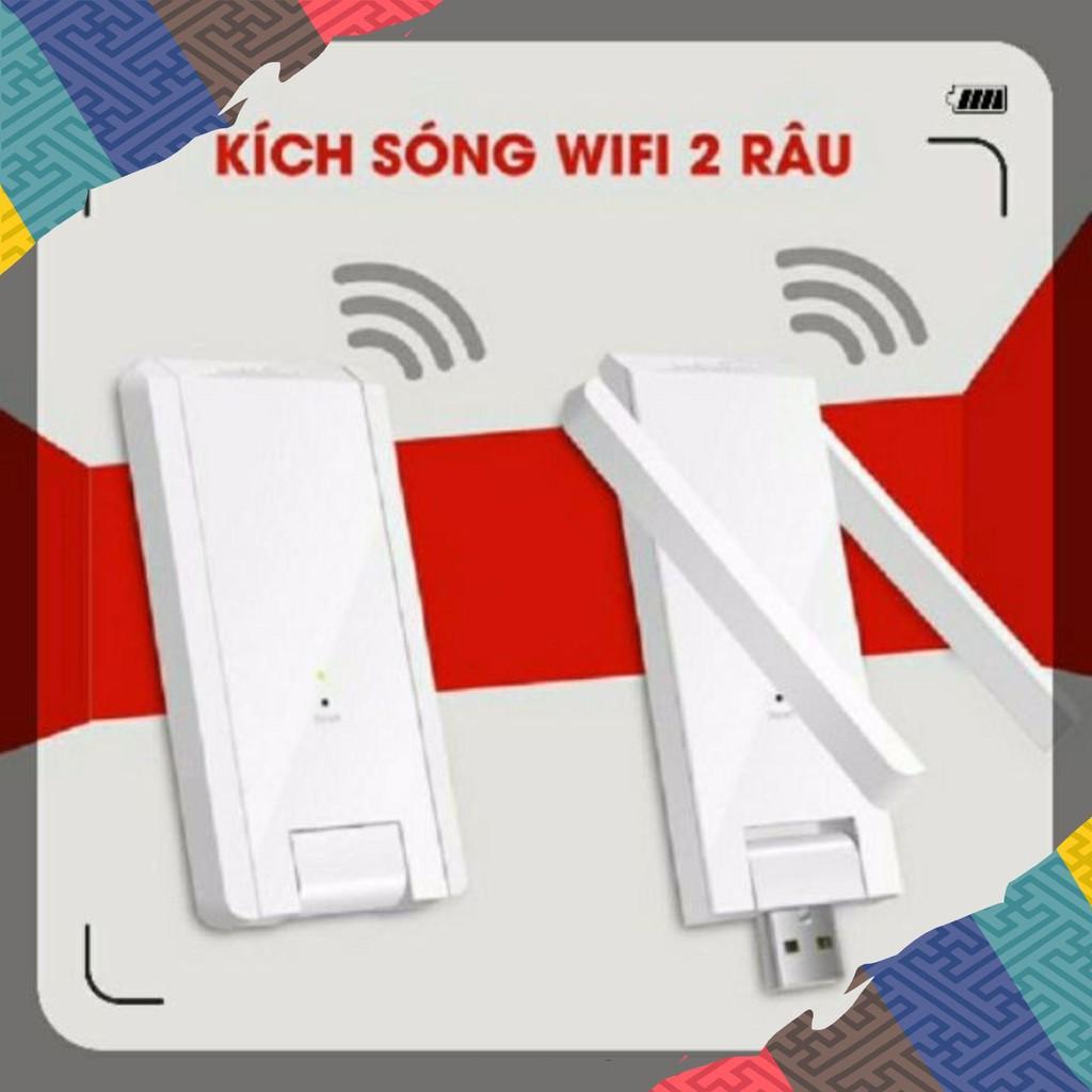 =SHOES IS ONE= ️USB Kích sóng Wifi chuyên dụng MERCURY băng thông tốc độ 300Mbps với 2 râu cắm nguồn qua củ sạc Giá chỉ 150.000₫