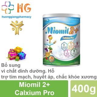 Sữa Miomil Canxium Pro - Bổ sung canxi giúp trẻ tăng trưởng chiều cao và phát triển toàn diện (Hộp 400g) thumbnail