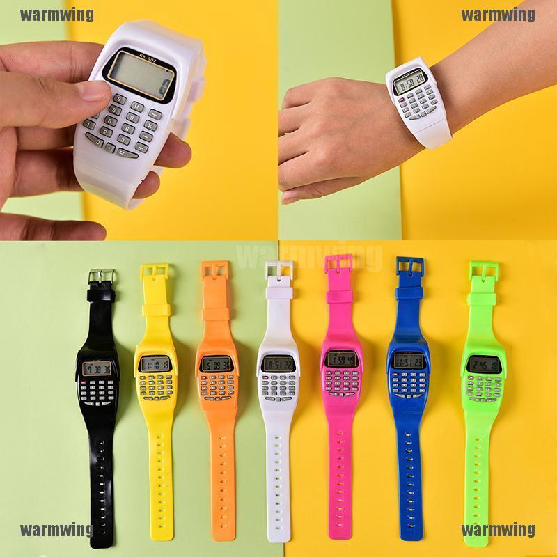 Đồng hồ tích hợp máy vi tính điện tử cho trẻ em