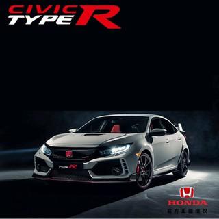 Xe mô hình ô tô Civic Type R tỉ lệ 1:32 bằng sắt