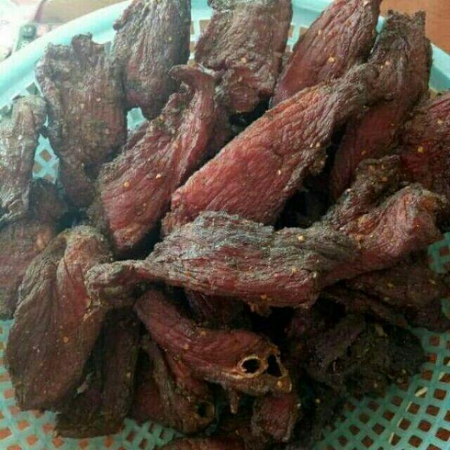 1kg thịt lợn đen sấy gác bếp