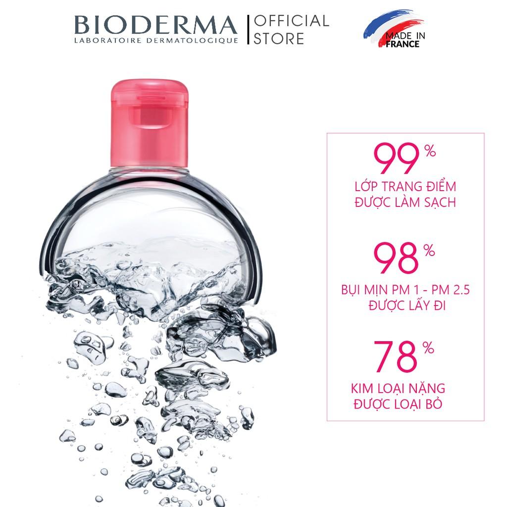 Dung dịch làm sạch và tẩy trang công nghệ Micellar Bioderma Sensibio H2O - 500ml