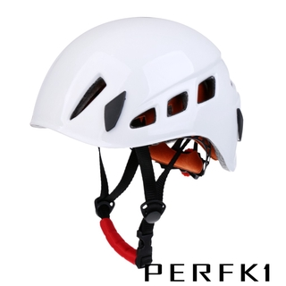 [PERFK]1 Adjustable Safety Helmet for Rock Climbing Caving Aerial Work Downhill
