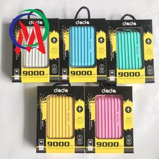 QUADASHOP [Tiện ích] – Pin dự phòng dada 9.000mah kiểu Vali thời trang Chất lượng