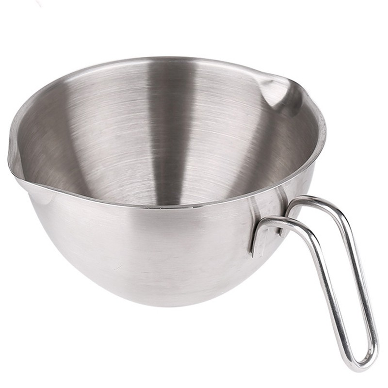 Egg Knead Dough Deepen Pot Basin Handle Stainless Steel Mixing Bowls เครื่องผสมอาหาร