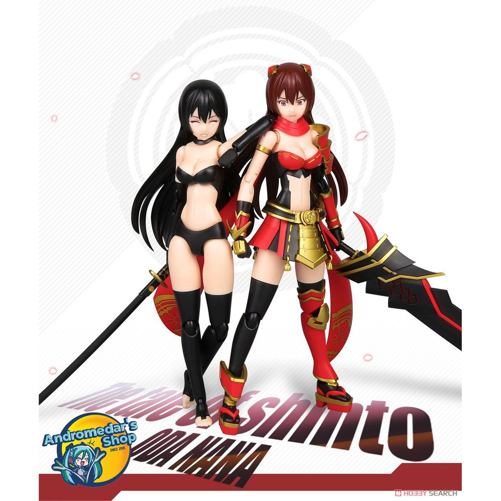 [Momoling] Mô hình lắp ráp The Tale of Shinto Nana Oda (Plastic model)