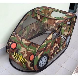 lều nhà banh hình xe quân đội xếp gọn vải dù và lưới thoáng mát HG5153